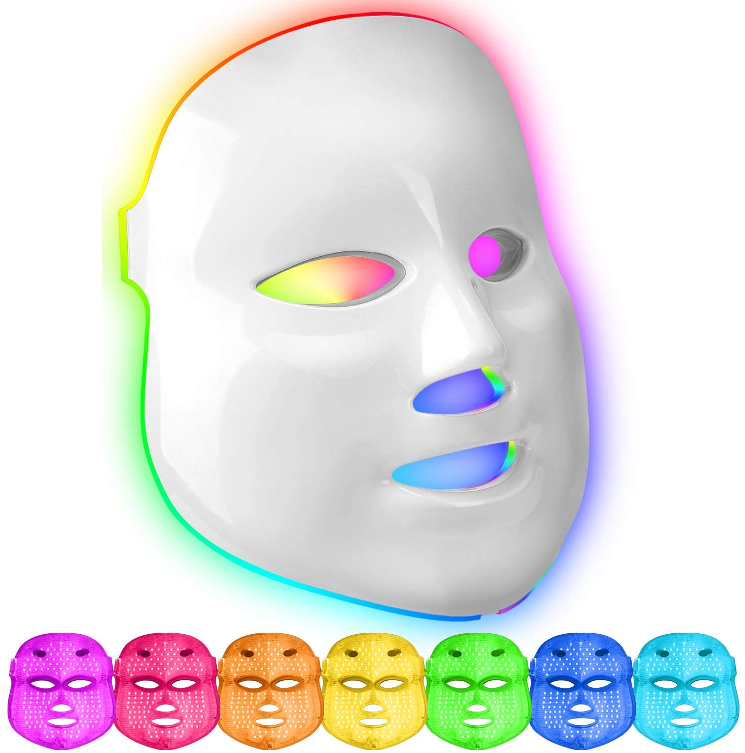 """Featured image for """"Maschera a Led - Cromoterapia viso"""""""