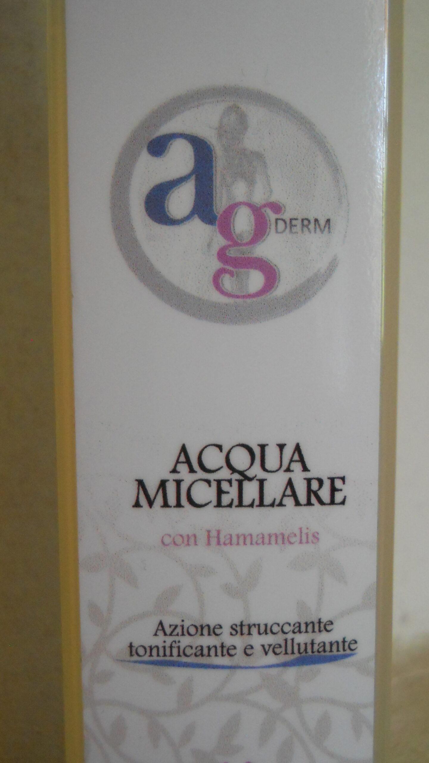 """Featured image for """"ACQUA MICELLARE azione struccante tonificante Cosmetica Biologica AG Derm"""""""