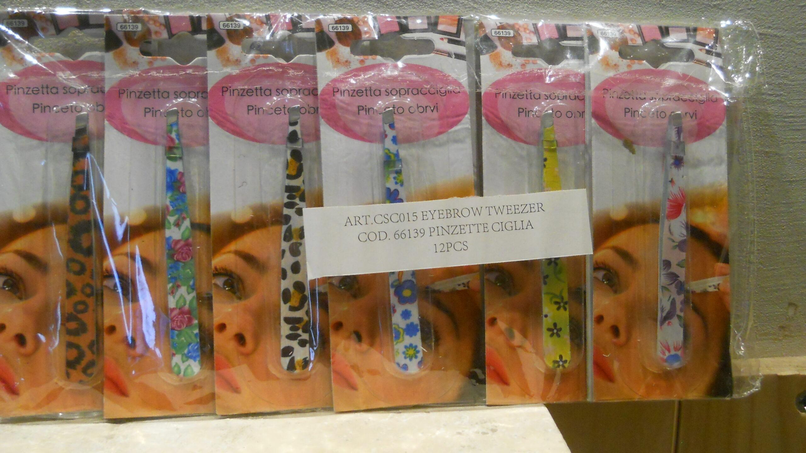 "Featured image for ""Pinzette ciglia fantasia - Eyebrow Tweezer Conf. da 6 pezzi"""