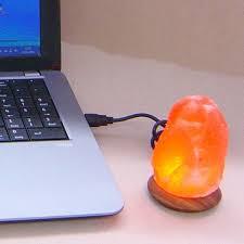 lampada di sale usb a led