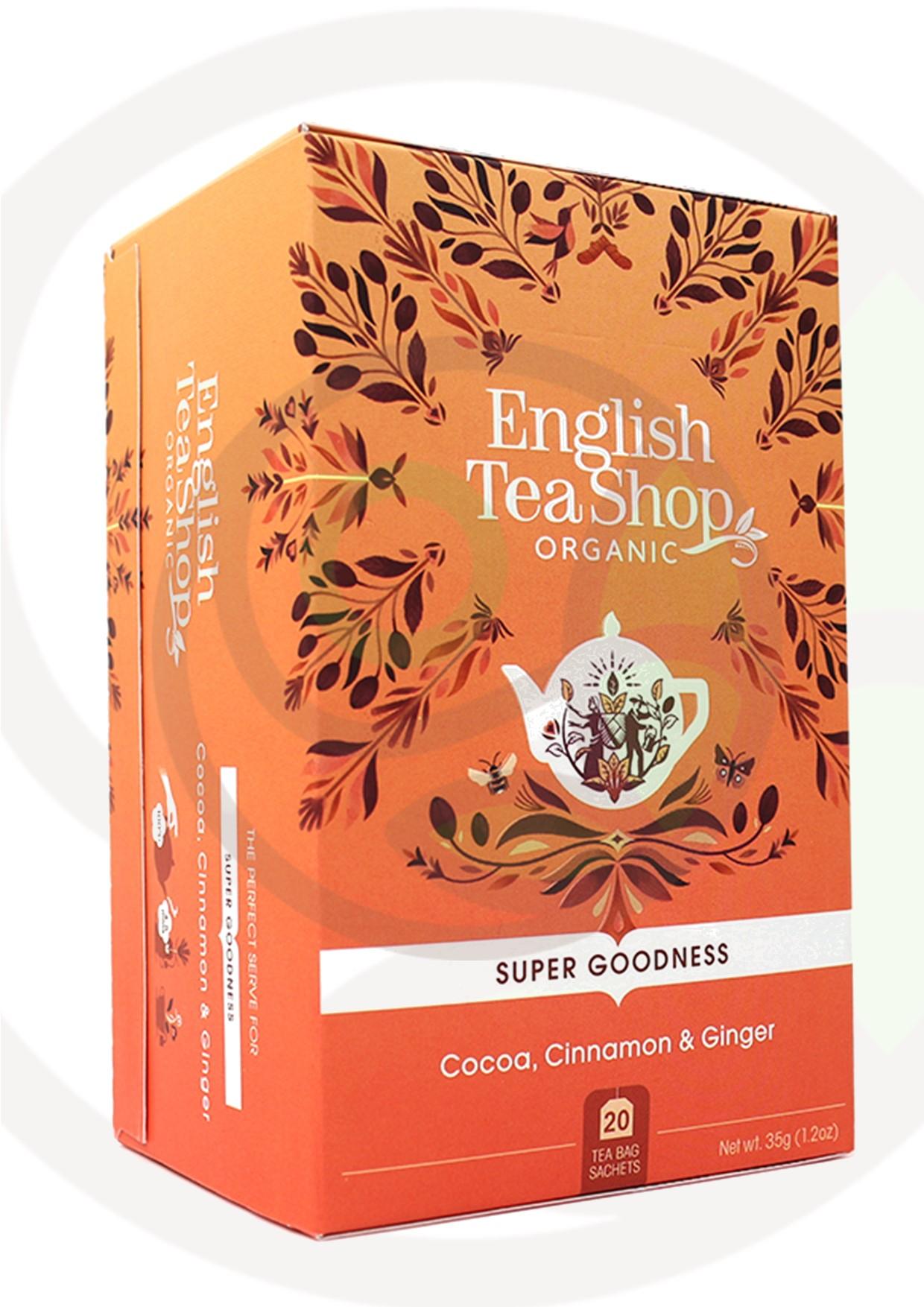"""Featured image for """"English Tea Shop Cacao Cannella Zenzero Organico"""""""