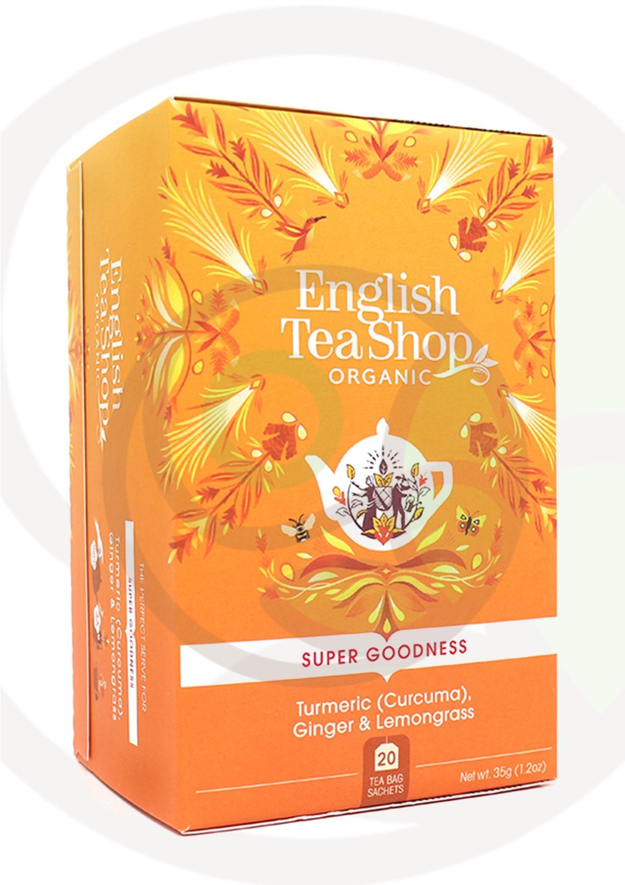 """Featured image for """"English Tea Shop Curcuma Zenzero e Citronella Organico"""""""