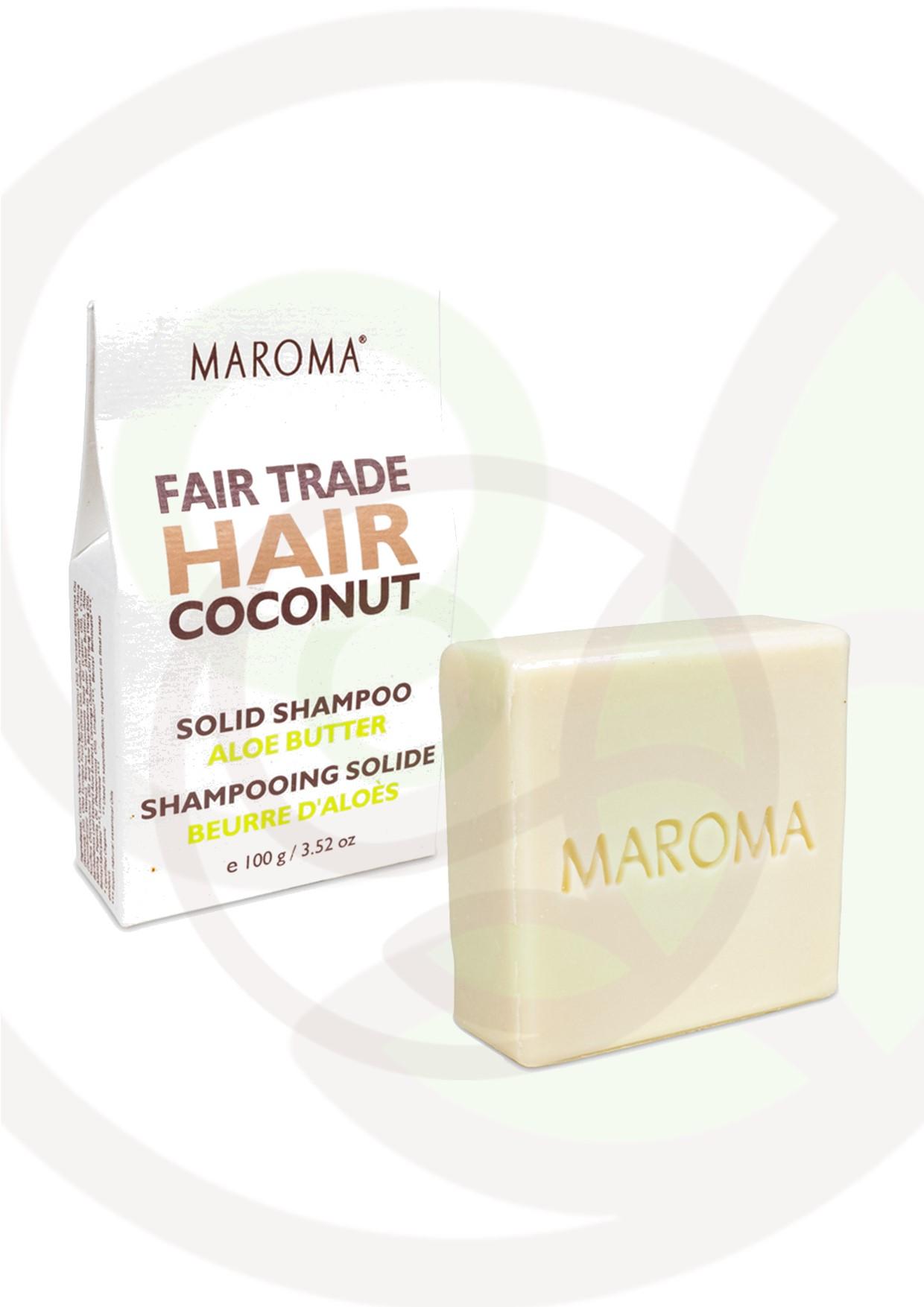 """Featured image for """"Maroma shampoo solido Cocco e Aloe"""""""