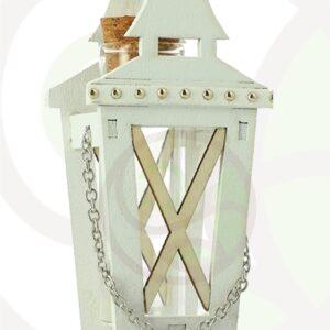 Lanterna con fiala in vetro confezione da 6 pezzi