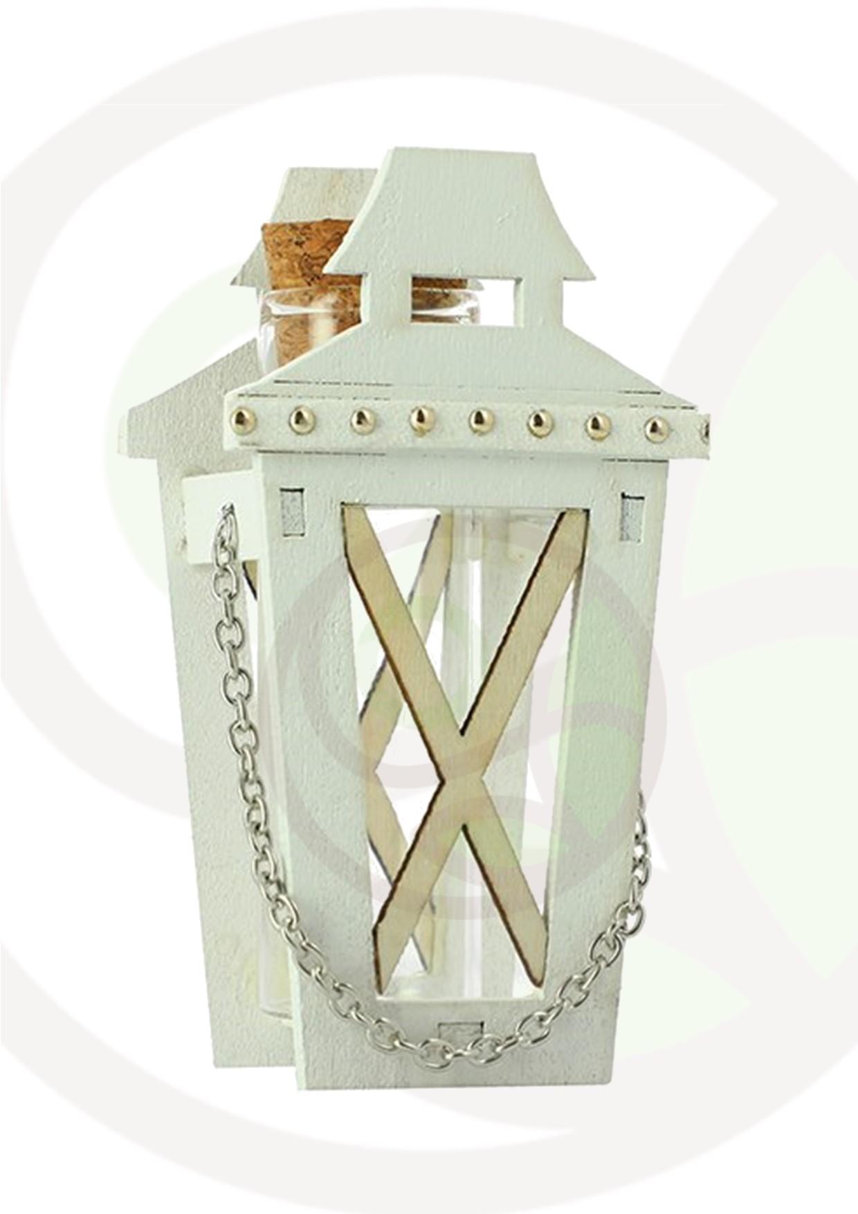 """Featured image for """"Lanterna con fiala in vetro confezione da 6 pezzi"""""""