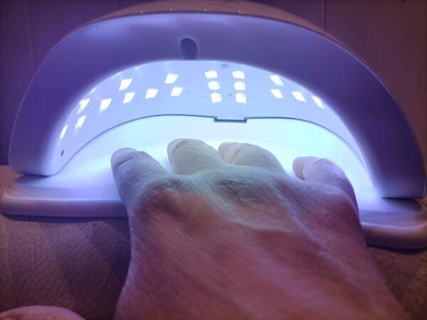 Asciuga smalto unghie 54W Sun X5 Plus