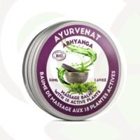 Balsamo massaggio Ayurvedico 18 piante BIO