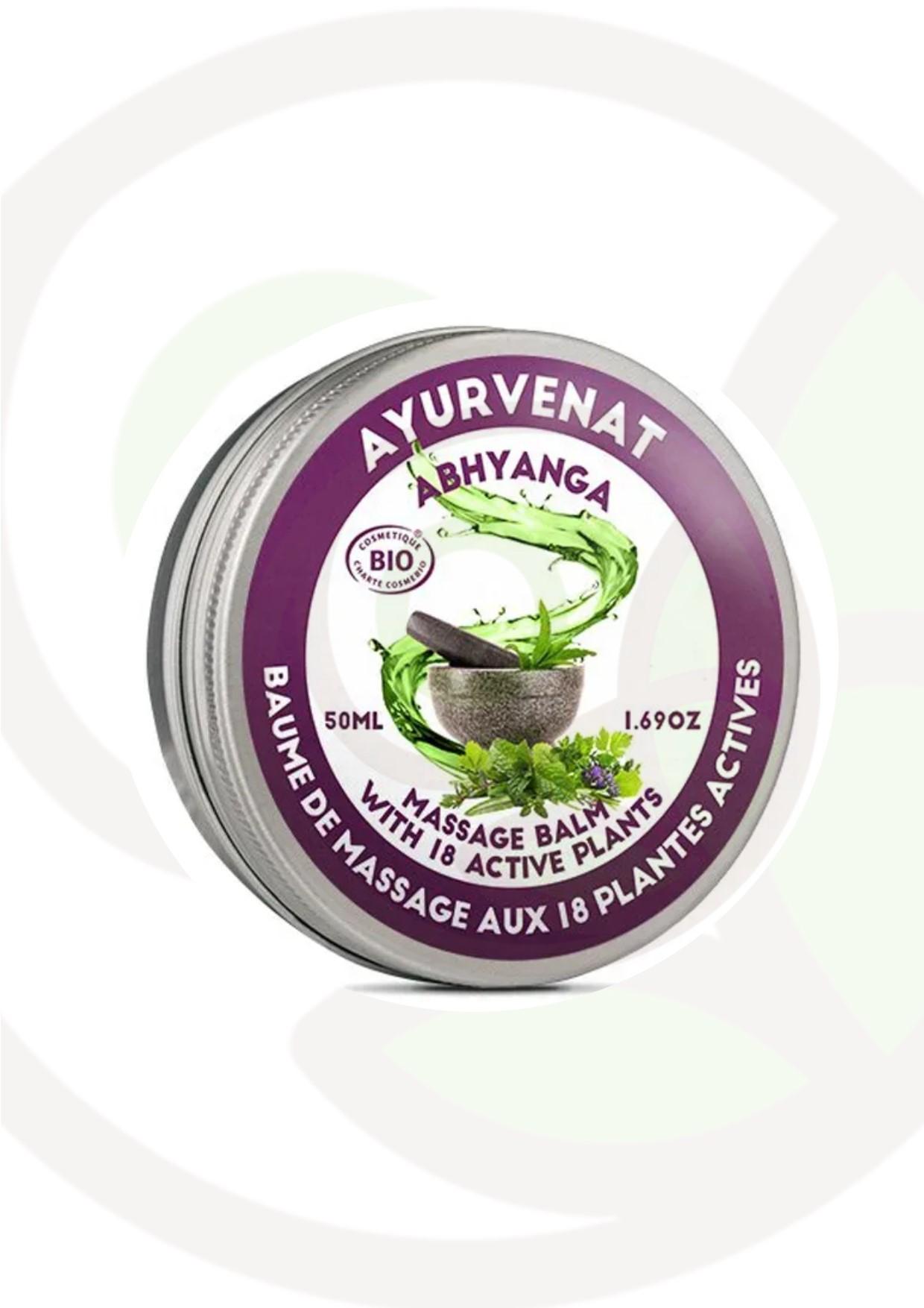 """Featured image for """"Balsamo massaggio Ayurvedico 18 piante BIO"""""""