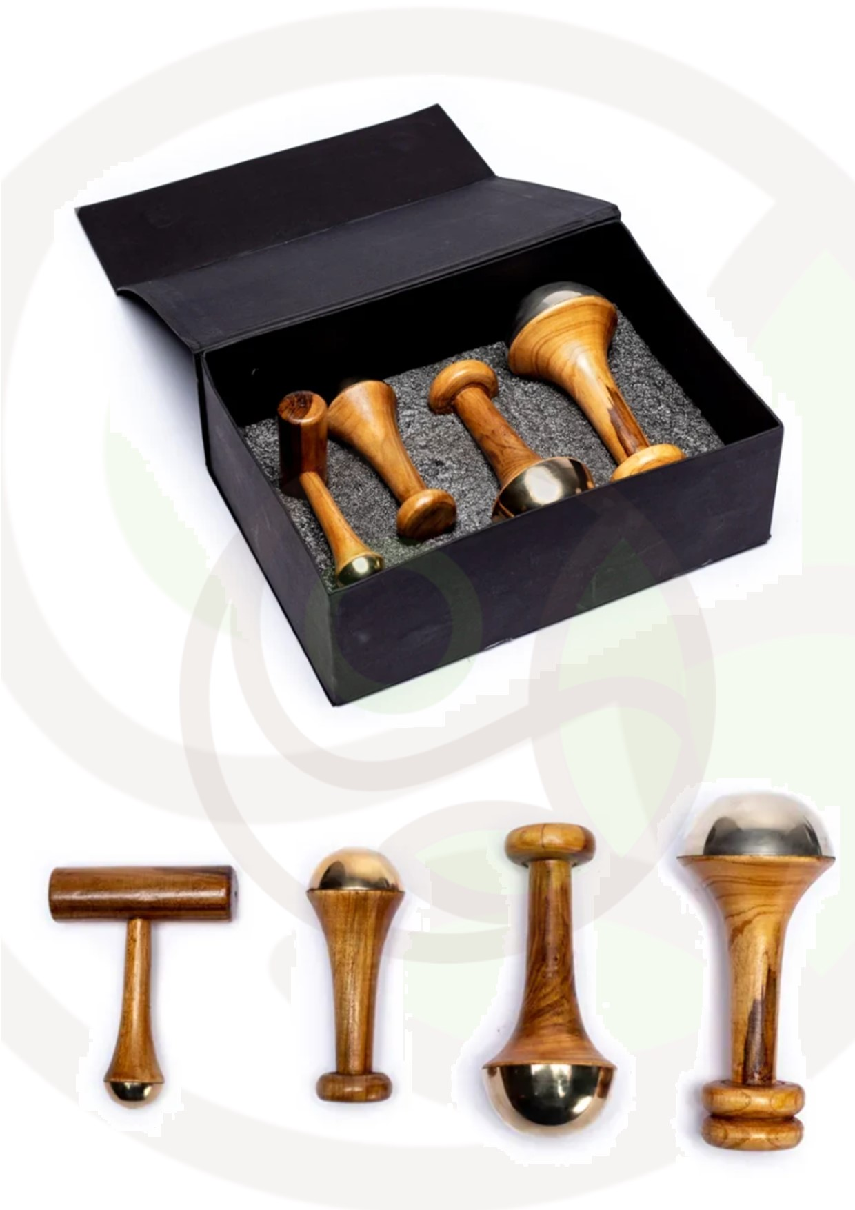 "Featured image for ""Set bacchette Kansa massaggio ayurvedico"""