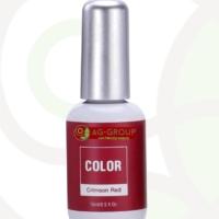 GEL POLISH SOAK -OFF LED/UV- COLOR CRIMSON RED