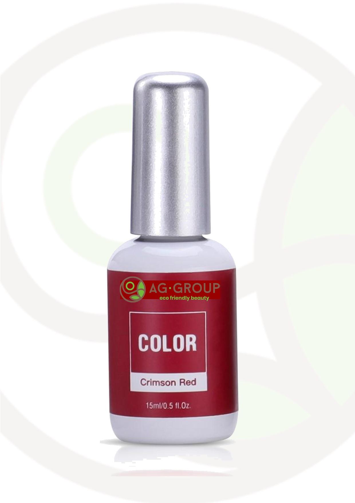 """Featured image for """"GEL POLISH SOAK -OFF LED/UV- COLOR CRIMSON RED"""""""