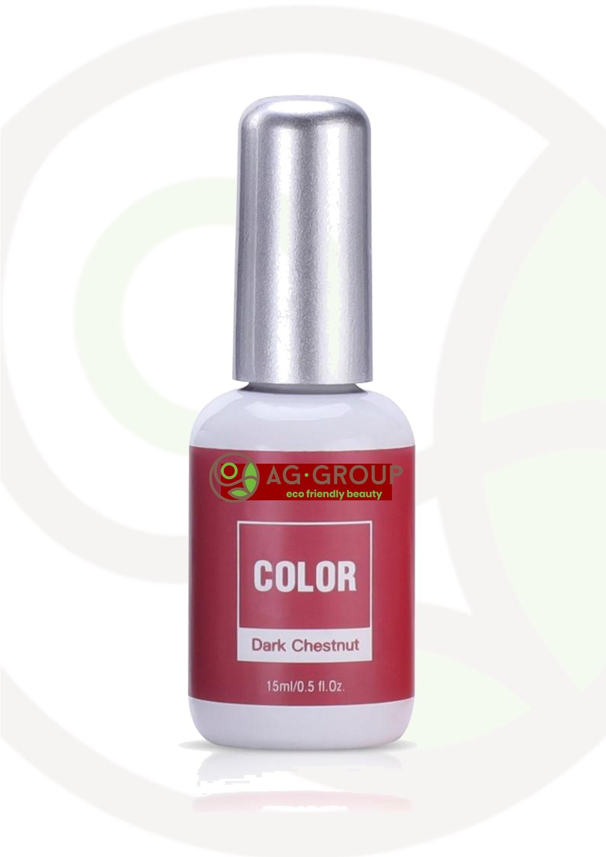 """Featured image for """"GEL POLISH SOAK -OFF LED/UV- COLOR DARK CHESTNUT"""""""