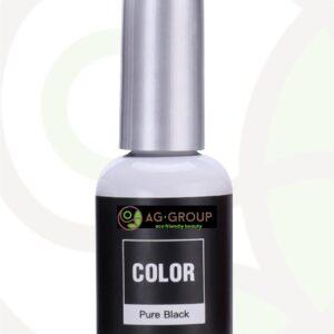 GEL POLISH SOAK -OFF LED/UV- COLOR PURE BLACK