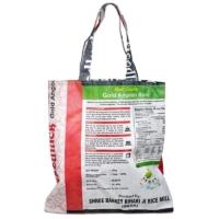 Shopping Bag reversibile in tessuto riciclato